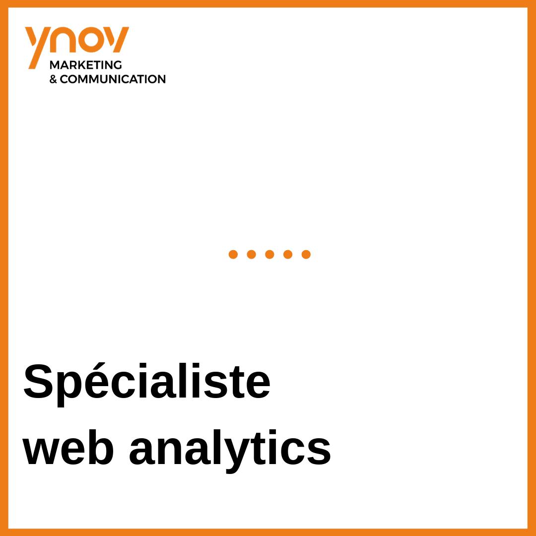 specialiste web analytics